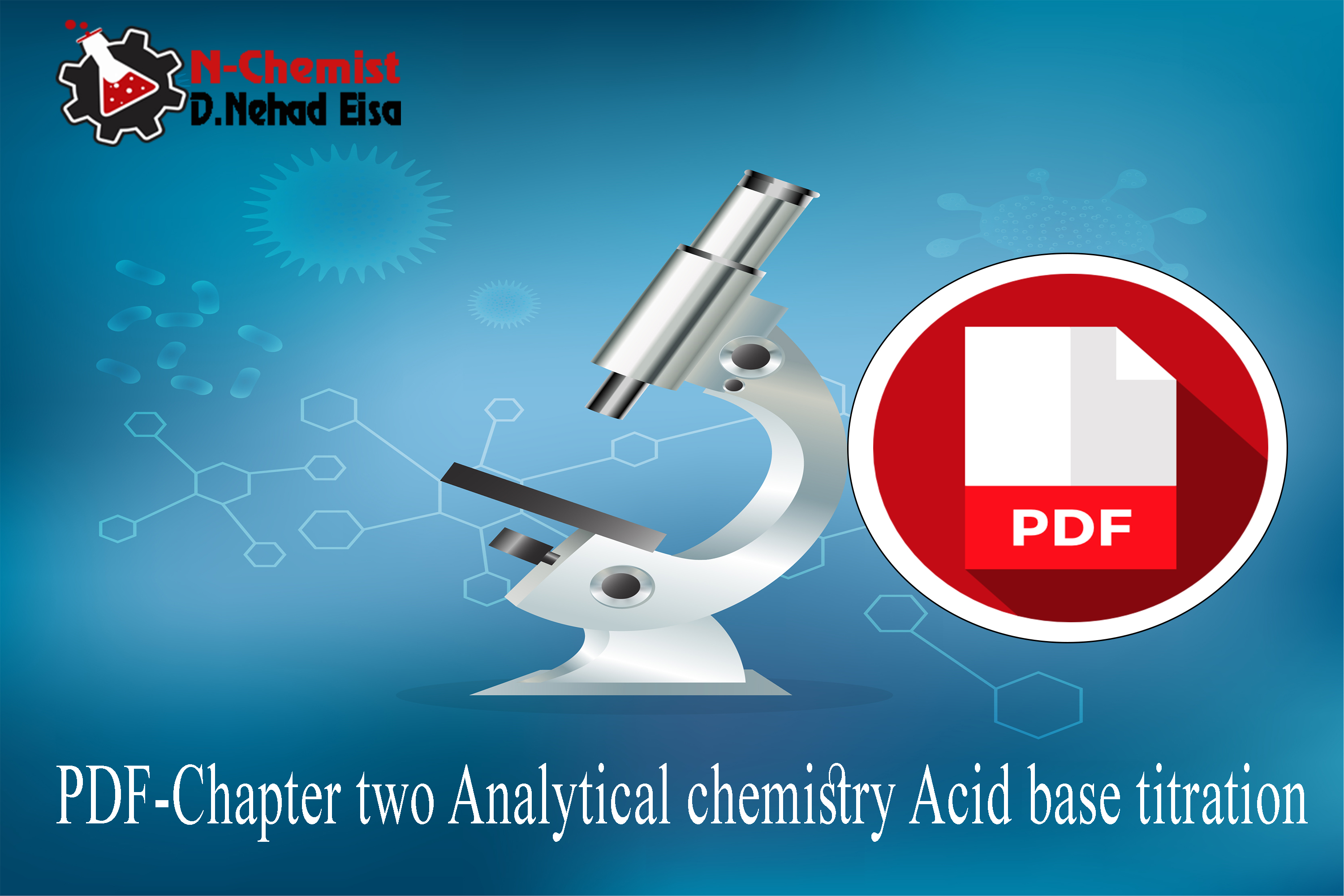 PDF-Chapter two Analytical chemistry Acid base titration